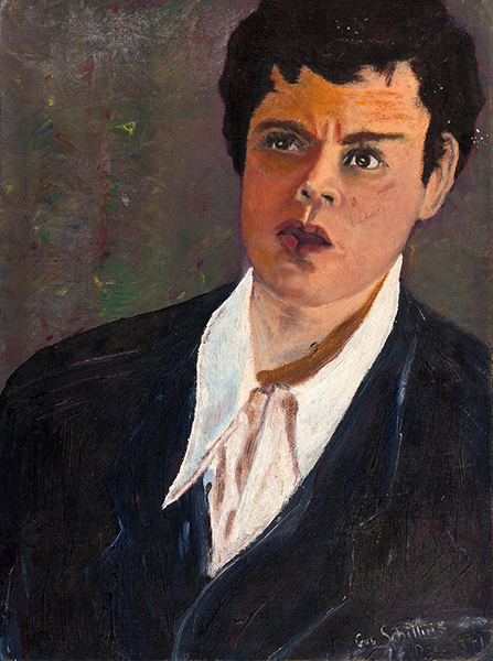 Orson Welles painting