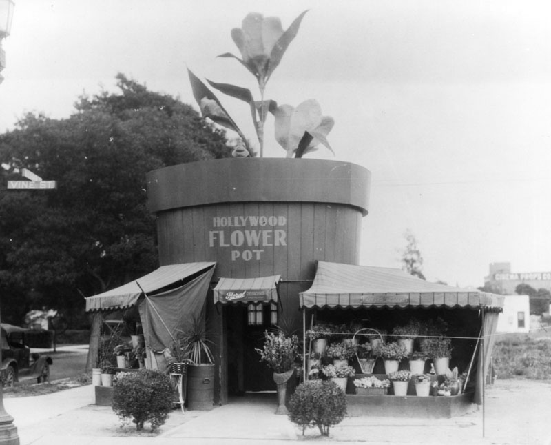 Hollywood Flower Pot 1920