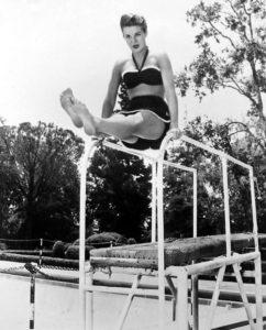 Jean Peters swimsuit