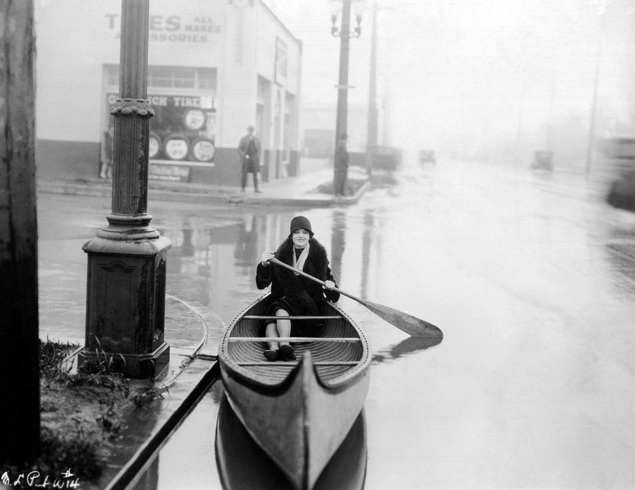 Myrna Loy flood