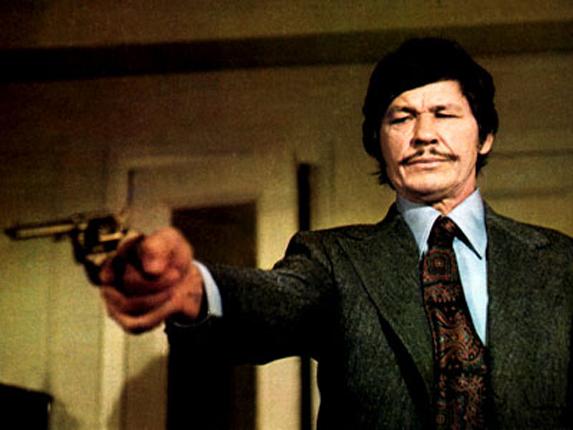 "Charles Bronson in ""Death Wish"" (1974). Bizarre Los Angeles"