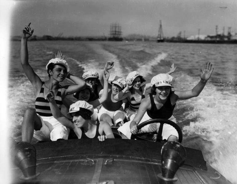 Boating Long Beach 1928