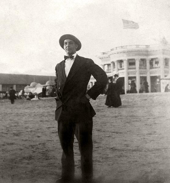 Long Beach Bath House 1910