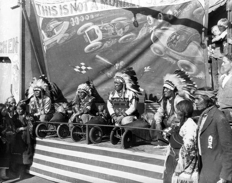 Native American Monkey Races Long Beach