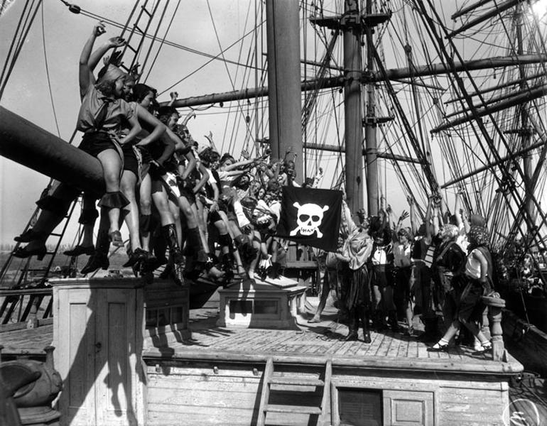Long Beach Pirate Girls 1928