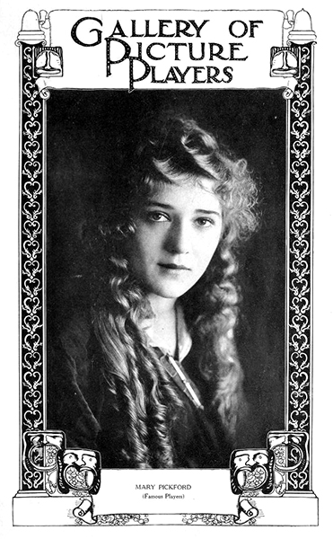 Mary Pickford, 1915. (Bizarre Los Angeles)