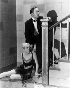 William Powell and Natalie Moorhead in 1930 (Bizarre Los Angeles)