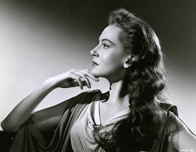 Deborah Kerr in 1953. Bizarre Los Angeles.