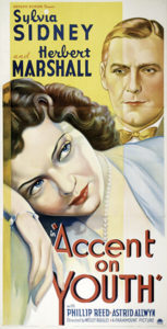 Accent on Youth 1935 poster