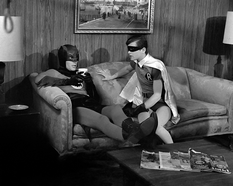 Batman Adam West Burt Ward