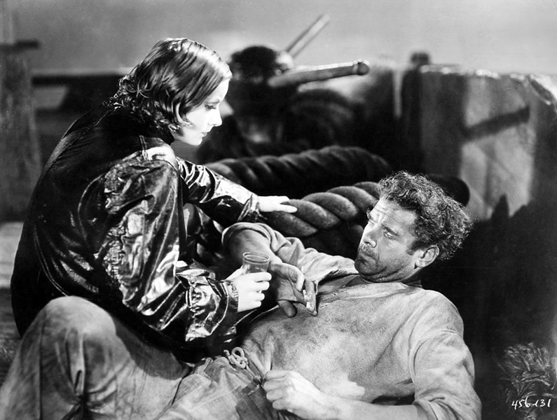 Greta Garbo Charles Bickford Anna Christie 1930