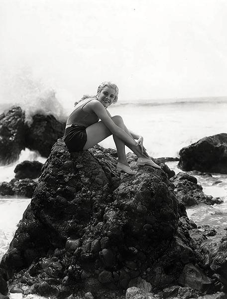Joan Marsh Pacific Ocean swimsuit