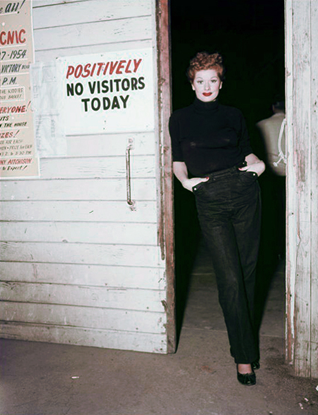 Lucille Ball No Visitors