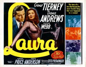 Laura Lobby Card 1944