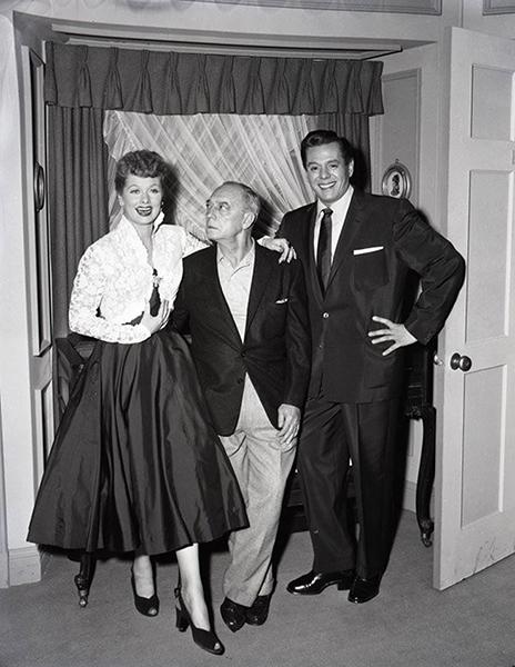 Lucille Ball Buster Keaton Desi Arnez