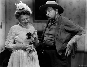 Marjorie Mane and Wallace Beery (Bizarre Los Angeles)
