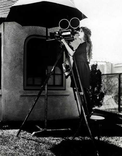 Mary Pickford camera