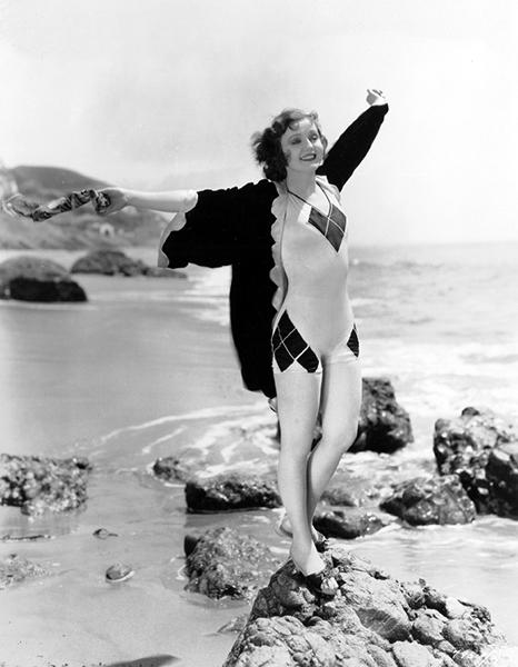Nancy Carroll in 1930 (Bizarre Los Angeles)