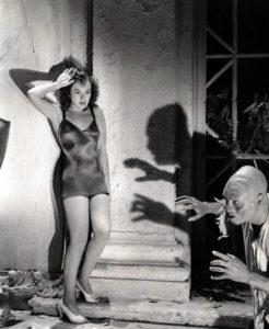 Paulette Goddard in The Ghost Breakers (1940). Bizarre Los Angeles.