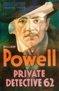 William Powell Private Detective 62