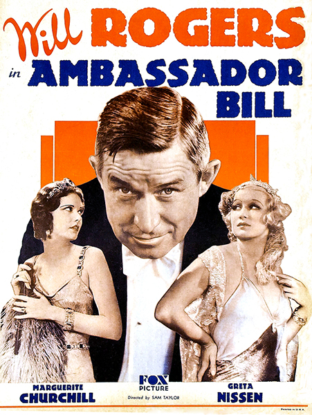 Ambassador Bill Will Rogers