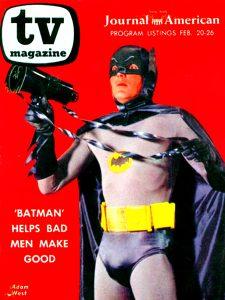TV Magazine Adam West Batman 1966
