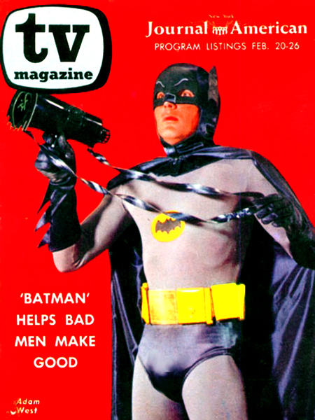 TV Magazine Adam West Batman 1966