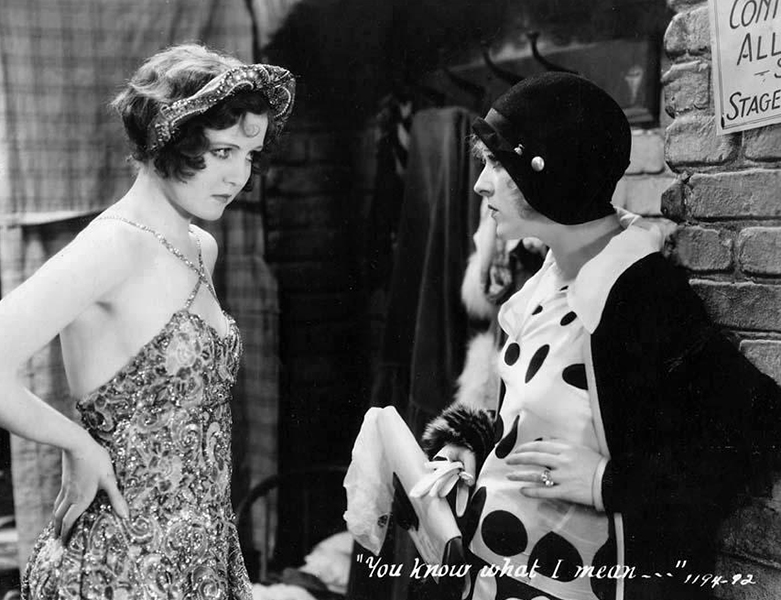 """When you put your microphone far away, to get a beautiful camera shot, you are forced to shout a scene that would be done in a tense half-whisper to get full dramatic effect."" -- Nancy Carroll (Bizarre Los Angeles)"