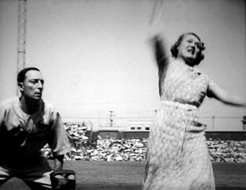 Buster Keaton Mary Pickford baseball