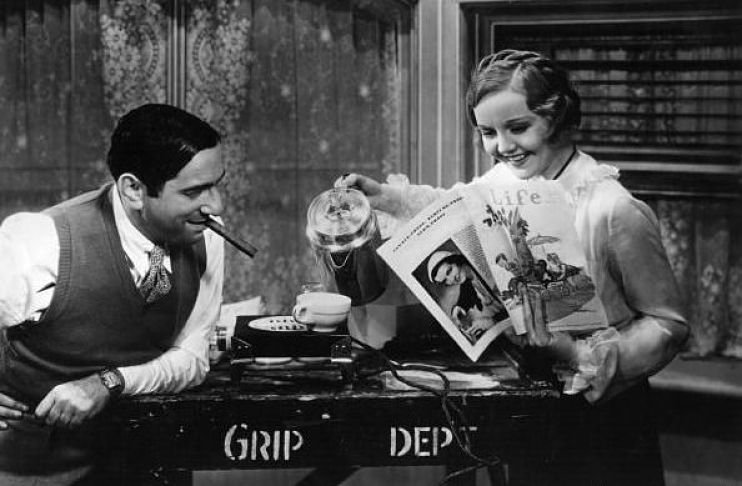 """""""I hear you're a tough guy - plenty of fight. I'm a tough guy, too, and some day you and I fight together. We make a picture all will remember."""" -- Ernst Lubitsch to Nancy Carroll. (Bizarre Los Angeles)"""