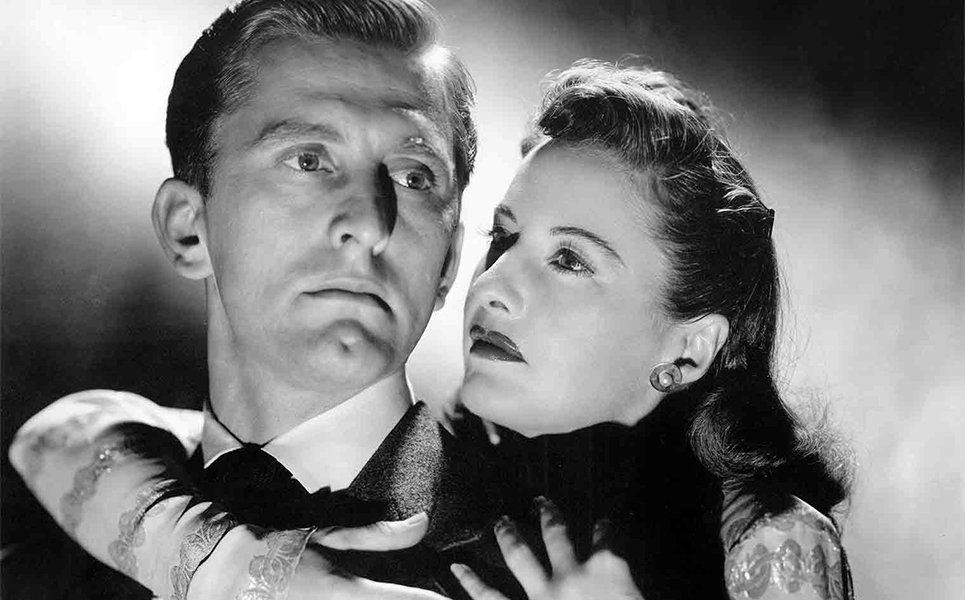 """It's true that Hollywood is inclined to type you. When I first came here, I played the weak husband in 'The Strange Love of Martha Ivers.' I became an expert in playing weaklings, in pictures like 'Out of the Past' and 'I Walk Alone.'"" -- Kirk Douglas (Bizarre Los Angeles)"