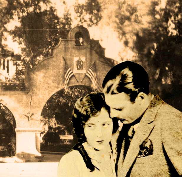 Richard Arlen Jobyna Ralston Mission Inn