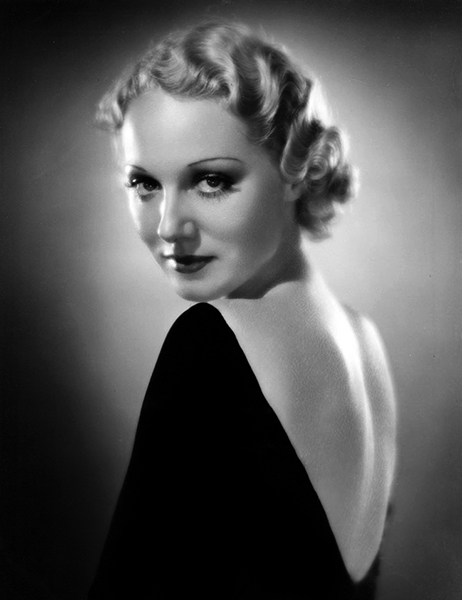 Leila Hyams in 1934. Photographer: Jack Freulich. Bizarre Los Angeles.