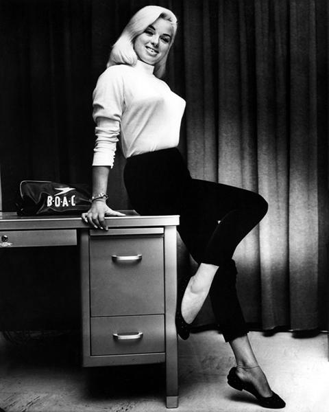 """I've been called the English Jayne Mansfield, Marilyn Monroe, Mamie Van Doren and Veronica Lake."" -- Diana Dors"