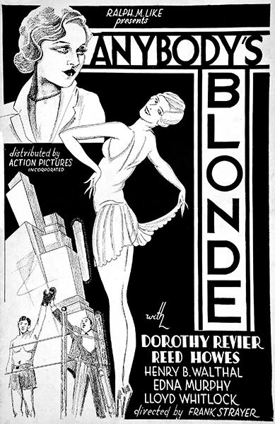 Anybody's Blonde Dorothy Revier