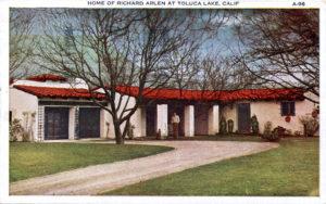 Richard Arlen Toluca Lake Home