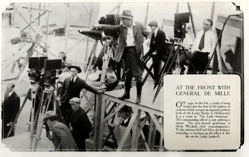 Cecil B. DeMille 1913