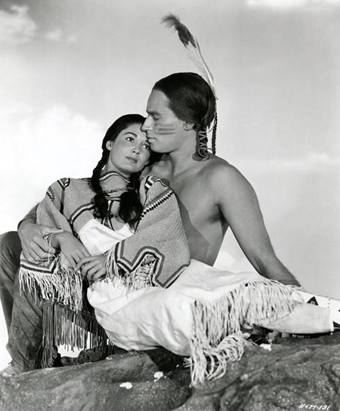 Charlton Heston Native American