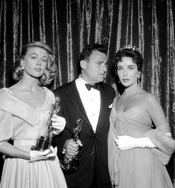 Dorothy Malone Mike Todd Elizabeth Taylor Academy Awards