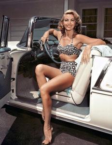Dorothy Malone modeling