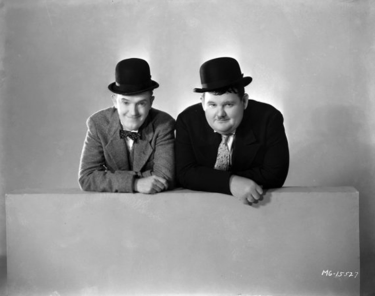 """""""The world is full of Laurel and Hardys. I saw them all the time as a boy at my mother's hotel. There's always the dumb, dumb guy, who never has anything bad happen to him, and the smart guy who's even dumber than the dumb guy, only he doesn't know it."""" -- Oliver Hardy (Bizarre Los Angeles)"""