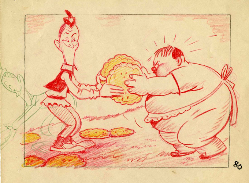 Laurel and Hardy caricatures