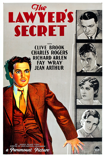 The Lawyer's Secret 1931