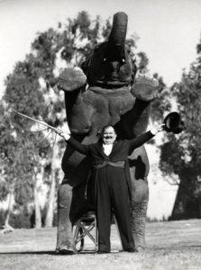 Oliver Hardy Jumbo Elephant