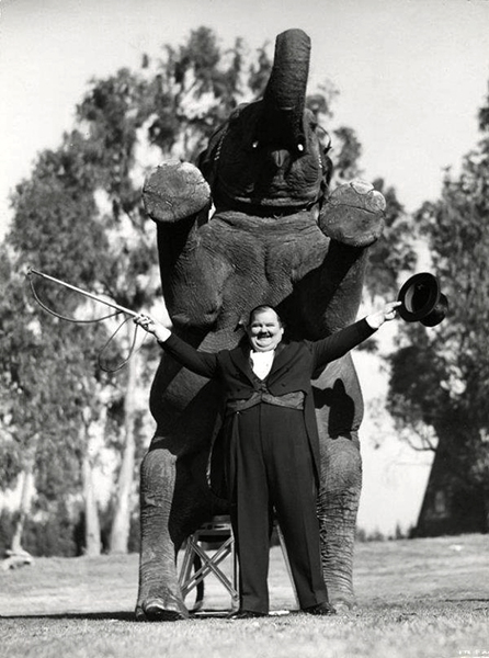 """""""I hate to see big men lurching around all over the place."""" -- Oliver Hardy (Bizarre Los Angeles)"""