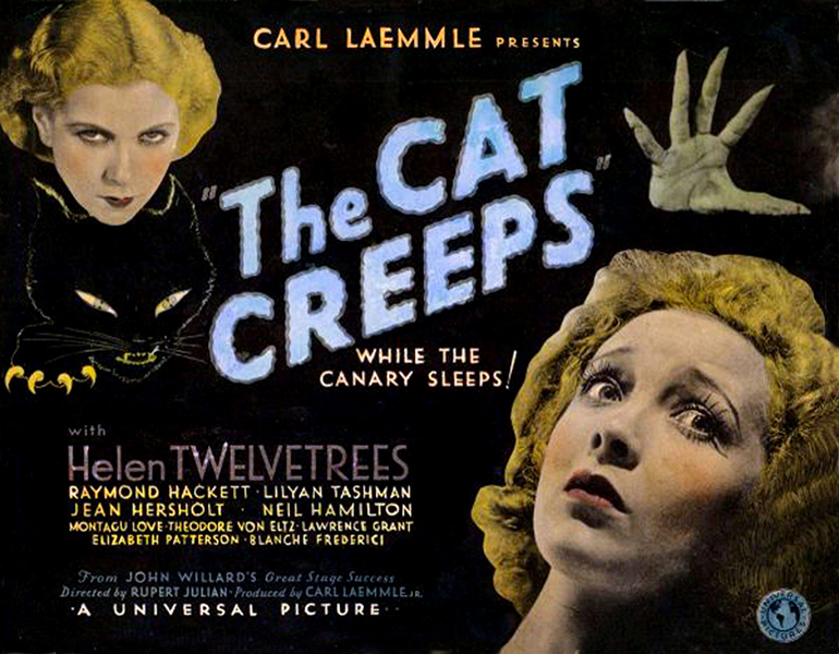 The Cat Creeps Helen Twelvetrees Lilyan Taschman