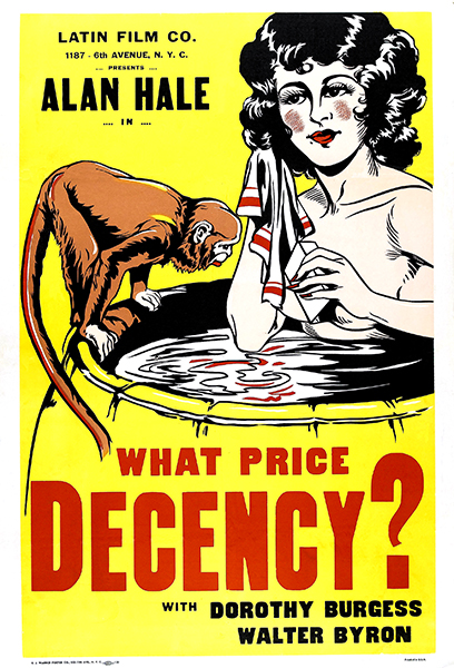 What Price decency? Dorothy Burgess