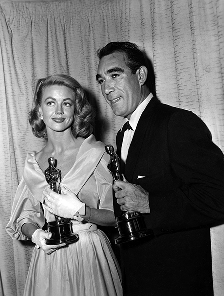Dorothy Malone Anthony Quinn Academy Awards