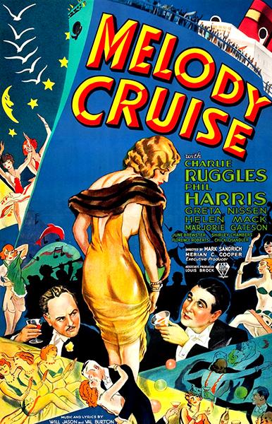Melody Cruise Charles Ruggles Greta Nissen