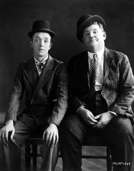 """""""People have always loved our pictures. I guess that's because they saw how much love we put into them."""" -- Stan Laurel (Bizarre Los Angeles)"""